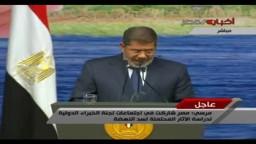 الرئيس: لن نسمح بمساس  أمن مصر المائي