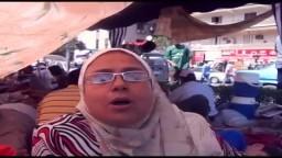 سيدات وبنات بميدان رابعة شاهد ما حدث معهم