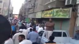 خروج مسيرات عفوية بسوهاج دعما للشرعية