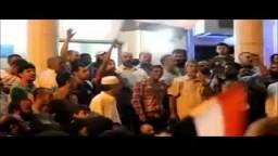 تظاهرة بالعريش تأييداً للرئيس مرسي