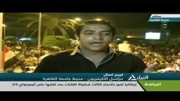 حشود متزايدة فى النهضة لدعم شرعية الرئيس