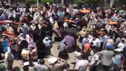 مظاهرات حاشدة بالشرقية لتأييد الشرعية