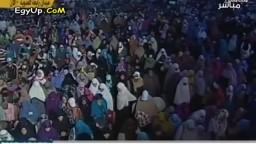 الزيات للسيسي أين حماية المتظاهرين بالنهضة؟