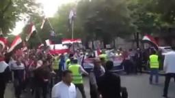 فرنسا الآلاف يتظاهرون ضد الانقلاب العسكري