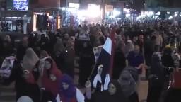 الاسماعيلية تنتفض ضد مجزرة الحرس الجمهوري