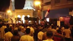 اعتصام مؤيدو مرسي في بني سويف