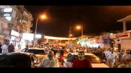 مسيرة حاشدة في شوارع العريش لرفض الانقلاب