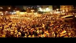 مئات الآلاف يحتشدون فى ميدان الجيزة