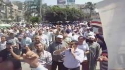 وقفة احتجاجية بطنطا لرفض الانقلاب العسكرى