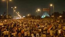اكبر مسيرة خرجت فى تاريخ القاهرة ضد الإنقلاب