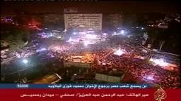 أول فيديو لهجوم الشرطة على المعتصمين بميدان رمسيس