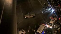 ضابط جيش يطلق النار على المسيرة المتجهة الى رمسيس
