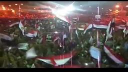 ميدان النهضة يشتعل بالهتافات- كسر الانقلاب