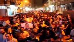 مسيرة دعم الشرعية بالمنصورة-الثلاثاء 23 / 7