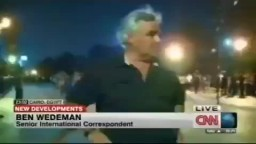 مراسل (CNN) يفضح الإنقلابيين من ميدان التحرير