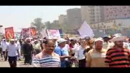 مسيرة رابعة العدوية باتجاة صلاح سالم 6_8