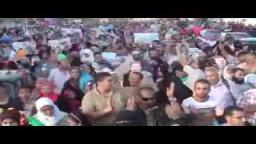 تظاهرات ضخمة بالإسكندرية صبيحة يوم العيد