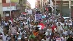 آلاف المتظاهرين في أسيوط لدعم الشرعية