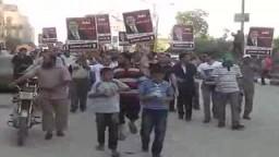 جسور بشرية بأحياء الفيوم دعماً للشرعية11/ 8