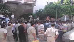 وقفة احتجاجية لأمناء الشرطة لدعم الشرعية