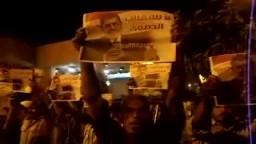 أمناء الشرطة بأبوقرقاص يهتفون للرئيس مرسي