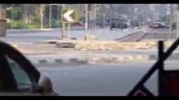 بداية اقتحام ميدان رابعة من شارع يوسف عباس
