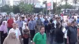 الأهالى يقطعون الطرق الرئيسية بالاسكندرية