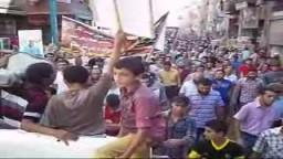 مسيرة حاشد بمركز طلخا فى يوم جمعة الغضب