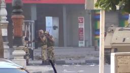 سموحة - الجيش يفتح النار على المتظاهرين