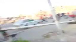 وقت فض الوقفة الاحتجاجية بالحصري 16-8-2013