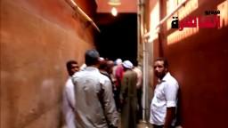 مشاهد مؤثرة لضحايا ابوزعبل داخل غرفة الغسل