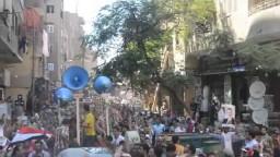 الوراق- مسيرة حاشدة - جمعة الشهداء 23/ 8/ 2013