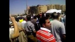 جمعة الشهداء - الالاف فى اكتوبر 23/ 8