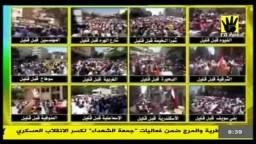 انتفاضة محافظات مصر في جمعة الشهداء 23-8