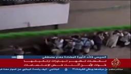 لقطات جديده للخروج الامن لمعتصمى رابعة !!