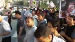 مسيرات رفض الإنقلاب بالفيوم 27 - 8 - 2013