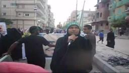 أم الشهداء تهتف بالإسماعيلية ضد السيسي