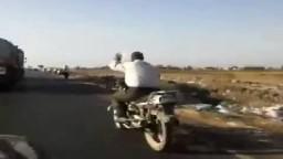 سلسة بشرية  5 كم على الطريق الدولى بكفرالشيخ
