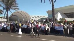 مسيرات نسائية فى الاسكندرية ضد حكم العسكر