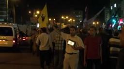 مظاهرة بالسويس لرفض الانقلاب 8-9-2013