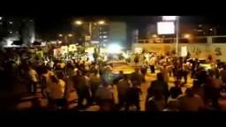 مسيرة بورسعيد 10 9  ضد الانقلاب الدموي