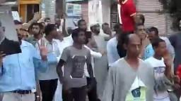 الإسماعيلية  مسيرة حاشدة من مسجد الصحابة
