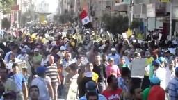 الإسماعيلية:مسيرة حاشدة بمليونية الوفاء للشهداء