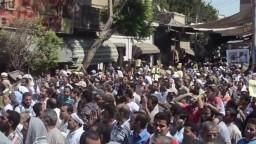 المنيا تواصل ثورتها لاسقاط الانقلاب