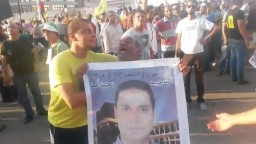 مشهد مؤثر على أعتاب رابعة 13-09-2013