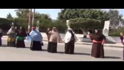 وقفة معلمين ضد اﻻنقلاب ببني سويف 17_9_2013