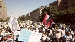 حلوان 20_9 مسيرة مسجد المراغى