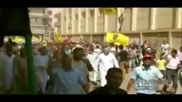 مسيرة حاشدة في مليونية الشباب عماد الثورة بابوحمص
