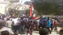 مسيرة طلاب ضد الانقلاب -مدرسة قلوصنا