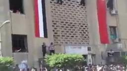 انتفاضة طلبة جامعة القاهرة ضد العسكر  22-9
